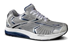 GENESIS Mens Silver Navy Cambrian Orthopaedic Shoe