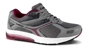 Cambrian ULTRA Grey Plum Mesh Orthopaedic Shoe