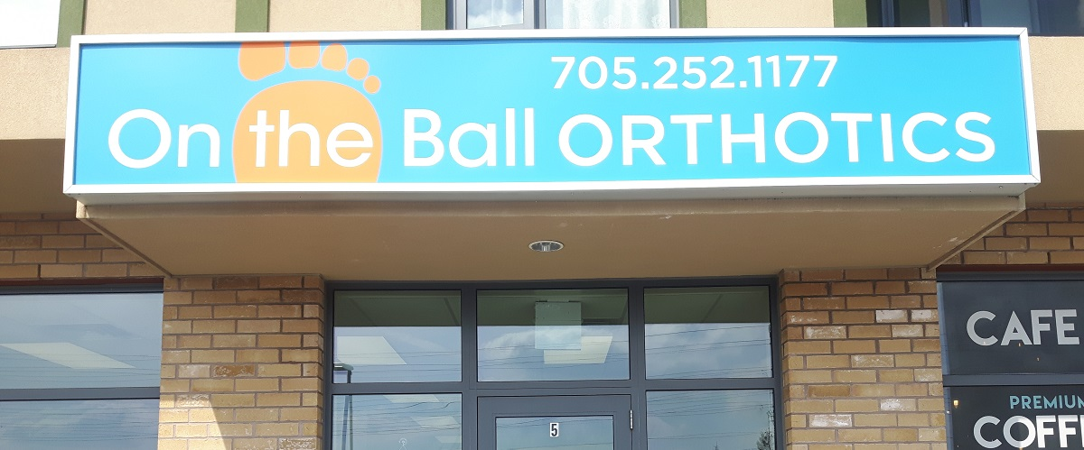 On the Ball Orthotics store front
