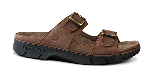 Men's Cambrian Sandal, Summit, Brown, 2 Straps, removable insert