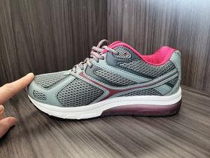 A walking shoe