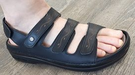 Cambrian sandal with 4 straps