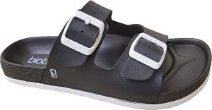Biotime Bali Black Women's Waterproof Sandal, 2 strap, adjustable, built-in support