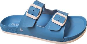Biotime Bali Blue Women's Waterproof Sandal, 2 strap, adjustable, built-in support