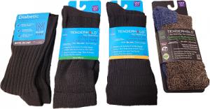 Diabetic friendly socks