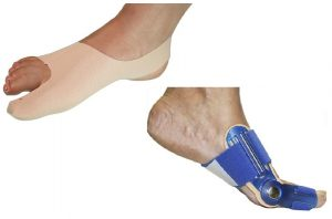 Thin bunion aligner and walkable night splint for bunions/hallux valgus