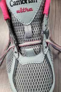 Re-lace the shoe one eyelet up