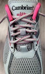 How to tie your shoe for a wider fit